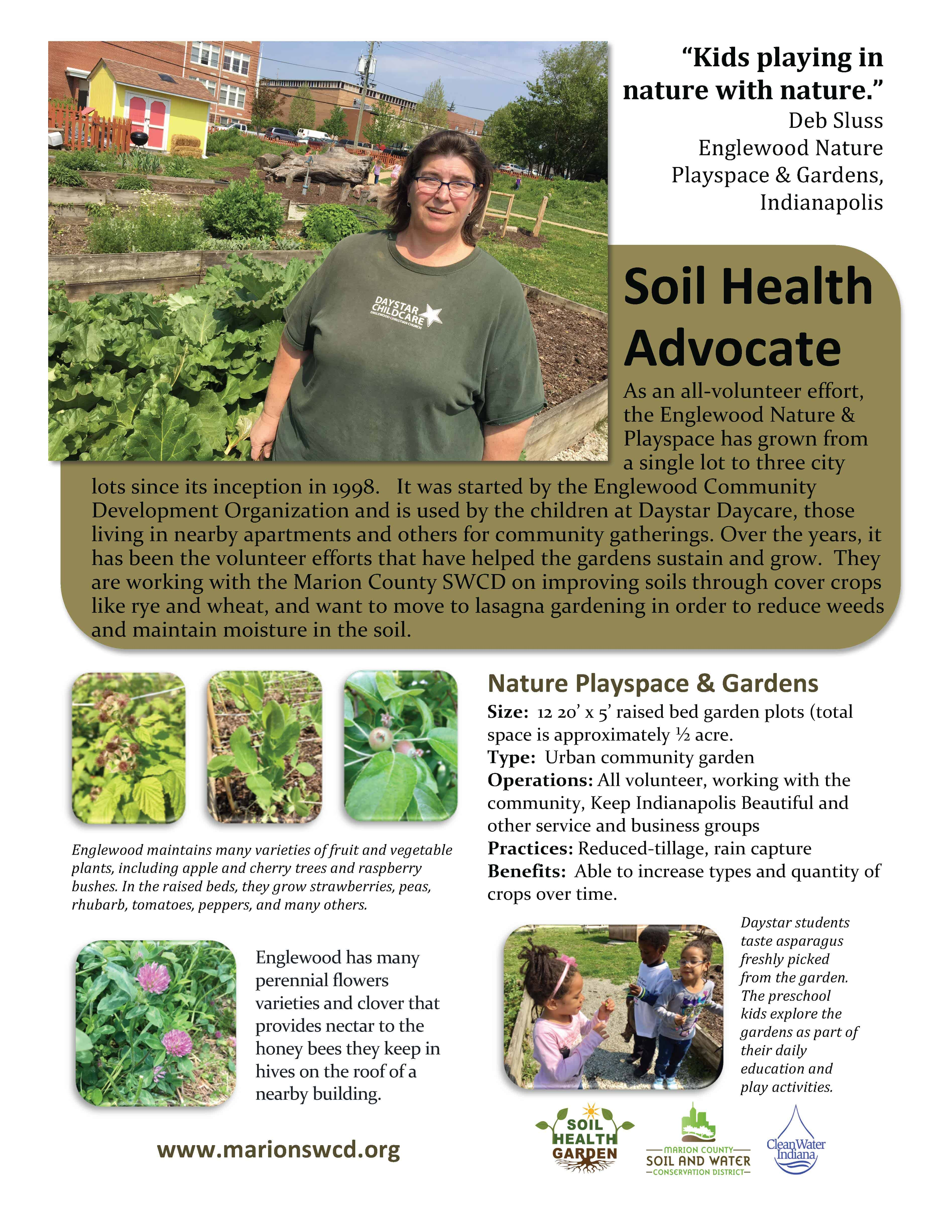 Englewood nature center and gardens - Grower profile fact sheet