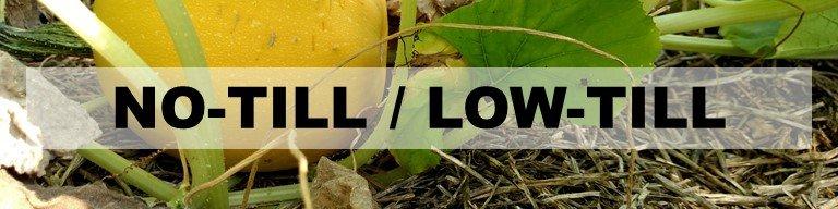 No-Till / Low-Till Header: Image of melon