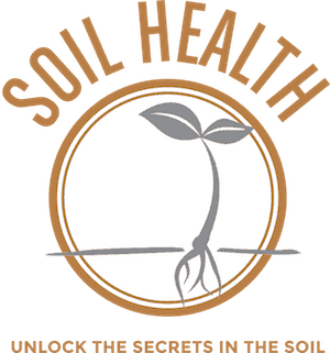 Soil health - unlock the secrets in the soil logo